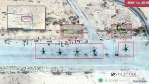 شاهد.. هل دمر داعش قاعدة جوية روسية في سوريا؟