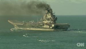سفن حربية روسية تعبر القناة الانجليزية