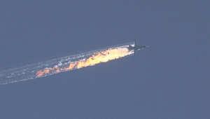 تركيا تُسقط طائرة حربية روسية في الأراضي السورية.. وموسكو تنفي انتهاكها المجال الجوي التركي