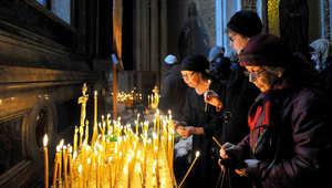 """قداس """"أربعيني"""" لتأبين ضحايا الطائرة الروسية بشرم الشيخ"""