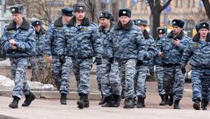 صورة أرشيفية لعناصر بالشرطة الروسية
