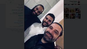 الحريري ينشر سيلفي مع ولي العهد السعودي وشقيقه