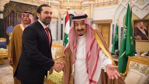 الملك سلمان يلتقي الحريري بأول زيارة له بعد رجوعه عن استقالته
