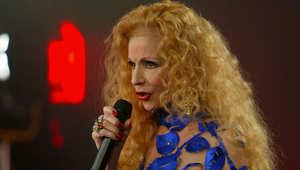 المغنية اللبنانية صباح في حفلة سابقة ببيروت