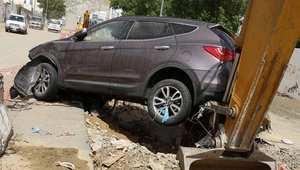 أضرار بالسيارات