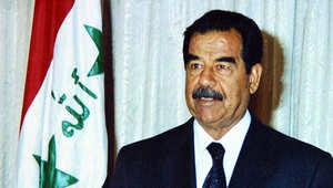الرئيس العراقي الأسبق صدام حسين