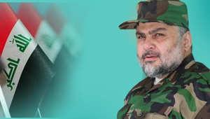 """الصدر يظهر باللباس العسكري مع مقاتليه ويتجنب الرد على سؤال حول اعتبار خامنئي """"الخرساني"""" بروايات المهدي"""