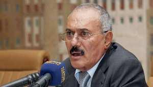 """علي عبد الله صالح يدعو المغرب ومصر والسودان والأردن إلى """"مراجعة تحالفهم مع السعودية ووقف العدوان على اليمن"""""""