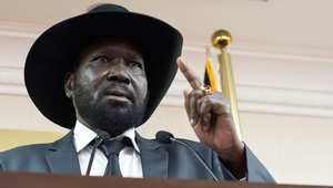 صورة ارشيفية لرئيس جنوب السودان