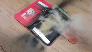 سامسونغ تكشف عن لغز انفجار بطارية