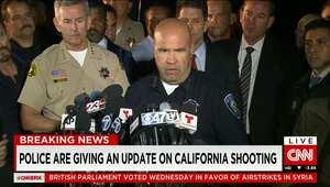 """أمريكا: مقتل سيد فاروق وتاشفين مالك المشتبه بهما في حادثة إطلاق النار في سان برناردينو.. والعثور على """"قنبلة أنبوبية"""" محتملة في سيارتهما"""