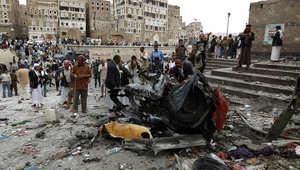 """قتلى وجرحى بتفجير استهدف مسجداً لطائفة """"البهرة"""" بصنعاء"""