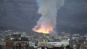 25 غارة للتحالف تستهدف مخزناً للأسلحة بـ10 دقائق وأنباء عن سقوط 43 قتيلاً