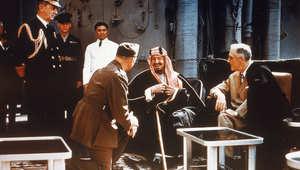 صور من سجل حياة ملوك السعودية السبعة