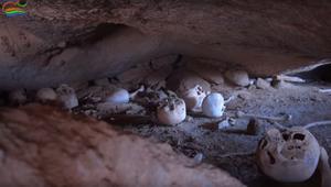 مقبرة جماعية في منطقة ذات طبيعة صخرية بجازان