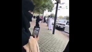 فيديو لفتاة وشاب يرقصان بشارع الفن في السعودية يجتاح تويتر