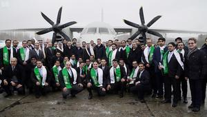 السعودية تطلق مع أوكرانيا طائرة متطورة تشارك المملكة بصناعتها