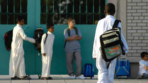 صورة تعبيرية لإحدى المدارس في السعودية
