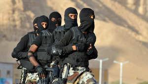 صورة ارشيفية لعناصر أمنية سعودية