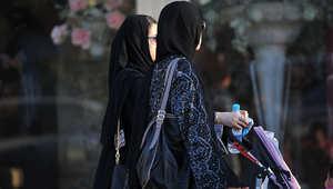 صورة تعبيرية لفتيات سعوديات في أحد الأسواق