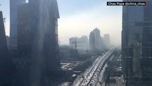 بتقنية الفاصل الزمني.. هواء بكين يتحول إلى تلوث خانق في 20 دقيقة فقط