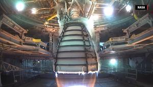 شاهد.. اختبار ناجح لمحرك RS25 يقرّب ناسا خطوة من المريخ