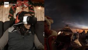 جولة افتراضية رباعية الأبعاد في مزلجة سانتا كلوز