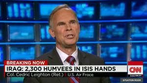 حرب داعش بالعراق.. محلل عسكري أمريكي لـCNN: نتعامل مع حكومة مركزية موقفها خطير بفقدان جزء كبير من الأراضي والقوات