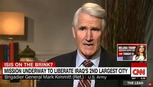 جنرال أمريكي سابق لـCNN: التحدي الحقيقي هو دخول الموصل