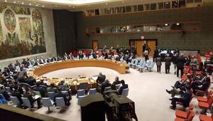 شاهد انسحاب سفراء بـUN خلال كلمة ممثل نظام سوريا