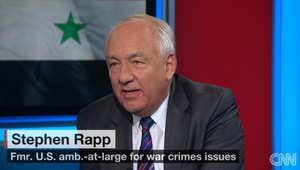 خبير بشؤون جرائم الحرب لـCNN: واجهنا مشاكل مع المالكي بالعراق سابقا ولكن الأسد أسوأ بمليون مرة.. ومن يقف معه سيعرض نفسه للملاحقة القضائية