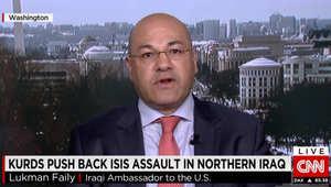 السفير العراقي بأمريكا لـCNN: العام الجاري فاصل في حرب داعش وسيطرد التنظيم من الموصل وندعو لدعم أكبر للعراق