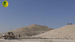 الحشد ينشر فيديو لاقتحام مركز قيادة واتصال لداعش غرب الموصل