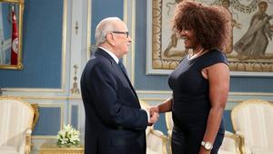 الباجي قايد السبسي يستقبل حفيدة مانديلا.. هذا ما قالته عن تونس