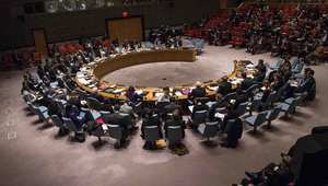 مجلس الأمن في إحدى جلساته