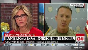 المتحدث باسم التحالف ضد داعش لـCNN: كيلومتر مربع واحد بقي لتحرير الموصل
