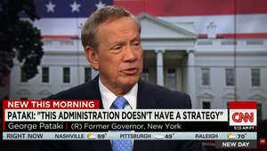 بعد سقوط الرمادي.. حاكم نيويورك السابق لـCNN: الإسلام المتشدد هددنا ولا يزال.. وهذا ما كنت لأفعله بالاستراتيجية ضد داعش