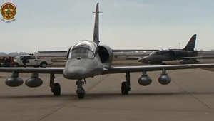 بالفيديو.. انضمام مقاتلات L-159 التشيكية لسلاح الجو العراقي