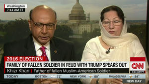 والد جندي مسلم قتل بالعراق يرد عبر CNN على انتقاد ترامب له: عليه أن يستمع لأمريكا والعالم