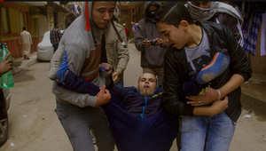 بالصور.. اشتباكات دامية في ذكرى ثورة 25 يناير بمصر
