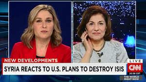 في مقابلة مع CNN.. شعبان لا تستبعد إسقاط مقاتلات أمريكية حال ضرب داعش داخل سوريا