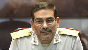 الأدميرال علي شمخاني الأمين العام لمجلس الأمن القومي الإيراني