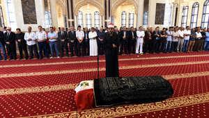 """تشييع """"لورانس العرب"""" إلى مثواه الأخير بمقابر """"السيدة نفيسة"""" في القاهرة"""
