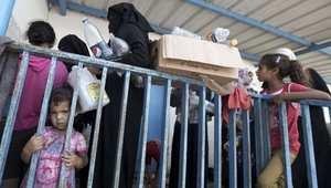 ملجأ تابع للأمم المتحدة في غزة