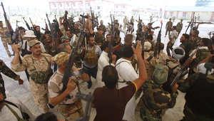 متطوعون شيعة في كربلاء