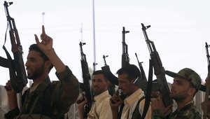 متطوعون شيعة تجندوا لقتال داعش