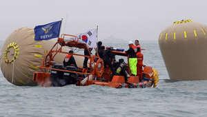 مذكرة اعتقال بحق ربّان السفينة الكورية وانتحار مشرف رحلة الطلاب