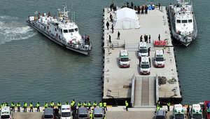 سفن الانقاذ تعود إلى الميناء