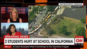 الشرطة الأمريكية: قتيلان بإطلاق نار بمدرسة في سان بيرناردينو