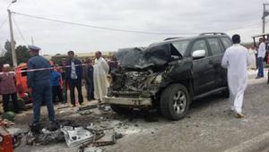 مصرع تسعة أشخاص وجرح أربعة في حادثة سير صباح عيد الفطر بالمغرب